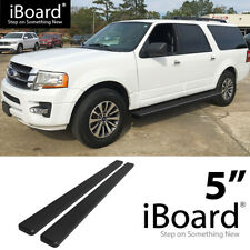 "5"" Black eBoard Running Boards For 2003-2017 Ford Expedition (Excl. EL Model)"