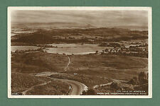 C1920'S RP POSTCARD THE VALE OF MENTEITH FROM THE TROSSACHS- ABERFOYLE ROAD