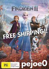 Frozen 2 II DVD Disney Reg 4 FREE POST! (2019) New!