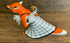 New listing Fox stealing Rooster Russian Figurine