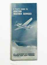 New ListingA pilot's Guide to Aviation weather services 1969 Pamphlet - Us Dep of commerce