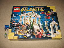LEGO Atlantis 7985 City of Atlantis BRAND NEW! + FREE Keychain Figure