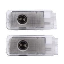 Door Welcome Laser Logo LED Light 2Pcs For Peugeot 206 306 307 406 407 508 607
