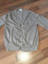 Lacoste mens  Cardigan Size 4