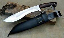13 inches Custom made kukri knife-kukri machete-hand forged knife-hunting knife