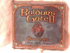 Baldur's Gate II: Shadows of Amn (2000) PC GAME -4 DISCS COMBAT ADVENTURE  Good