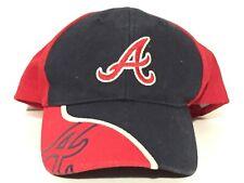 Atlanta Braves MLB Baseball Team Colors Embroidered Logo Kids Adjustable Cap Hat