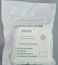 "GREAT CLEANING CLOTHS ESD Wipers Multicomp 9""X9"" 100 Sheets CLEANROOM WIPE CLOTH"