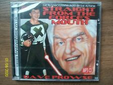 Dave Prowse Straight From The Force's Mouth Autobiography Audio Book New MP3 CD