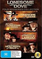 LONESOME DOVE Four  Miniseries Collection (Region 2 UK Compatible) DVD Laredo