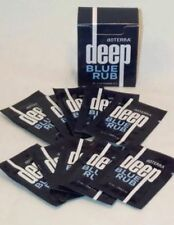doTERRA ESSENTIAL OIL~ DEEP BLUE RUB 2 ml SAMPLE PACKETS 2 Boxes Of 10 Packets