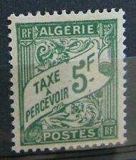 ALGERIE Taxe 32 - Neuf** sans charniere
