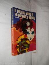 IL MIGLIOR MODO DI SCOMPARIRE E' MORIRE John Creasey Paoline 1973 romanzo di