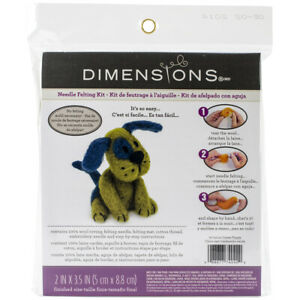 Dimensions Feltworks Needle Felting Kit-Dog, 72-74042