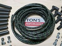 8mm Vintage Cloth Covered Spark Plug Wire Kit for ELECTRONIC IGNITION SYSTEMS
