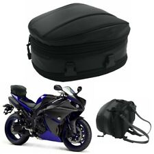 Motorcycle Rear Seat Back Saddle Waterproof Storage Travel Pack Carry Tail Bag