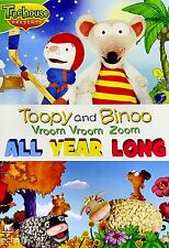 NEW DVD // TREEHOUSE // TOOPY AND & BINOO // VROOM VROOM ZOOM - ALL YEAR LONG