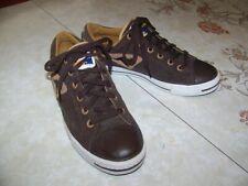 Vintage 1980s Corduroy Kangaroos Roos Sneakers-Brown Shoes-Men Sz 8.5 M-Rare !
