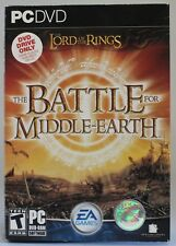 Lord Of The Rings: The Battle For Middle Earth (PC-DVD, 2004) - NEAR MINT IN BOX