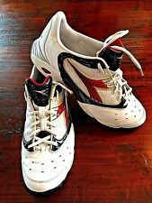 DIADORA Quinto 2008 Indoor Soccer Shoes White Black & Red EU 47 - US SIZE 12.5