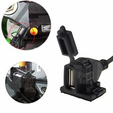 USB Powerport 12V 2.1A Dual Charger for Smartphone iPhone Android GPS ATV UTV