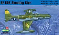 Hobbyboss 1:48 scale model kit RF-80A Shooting Star Fighter HBB81724