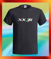 JAGUAR XK-R British Racing Car Logo Speed Men's Black T-Shirt S M L XL 2XL 3XL