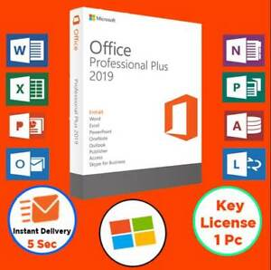 🍎Office®Professional®2019 Plus 32/64 Bit✔️1PC✔️License key🍎Instant Delivery🍎