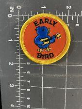 Girl Scouts Early Bird Patch Badge Membership Renewal Registration Enroll Troop