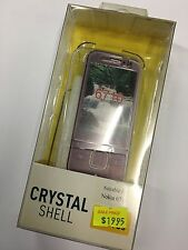 Nokia 6710 Navigator Crystal Hard Case in Clear CSNOK6710 - O. Brand New in pack
