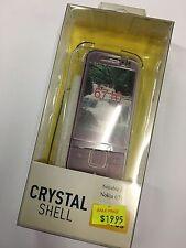 Nokia 6710 Navigator Crystal Hard Case in Clear CSNOK6710 - O. Brand New in pack