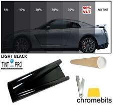 BLACK CAR WINDOW TINT FILM PROFESSIONAL ANTI-SCRATCH LIGHT SMOKE 50% 76cm x 3M