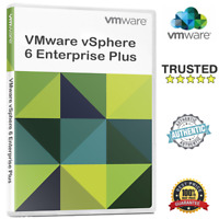 VMware ESXi vSphere Enterprise Plus 6.0/6.5/6.7 ✔️Unlimited CPUs 🔑Lifetime Keys