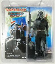 NECA Iron Maiden Retro Action Figure Eddie pezzo della mente 20 cm in magazzino