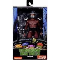 """NECA Teenage Mutant Ninja Turtles TMNT 1990 Movie Shredder 7"""" Action Figure New"""