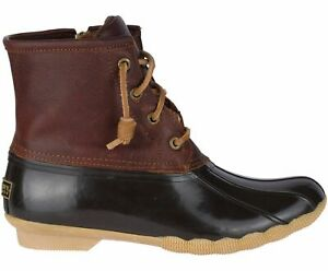 New Women`s Sperry Saltwater Duck Boots STS91175, STS91176