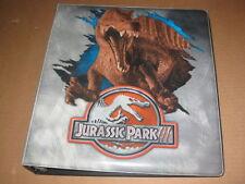 Jurassic Park 3 Trading Card Binder Album