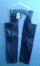 UNIK UNISEX /NEW Biker Chaps/Genuine  Leather Size:Small