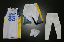 Custom 1/6 kevin durant Golden State Warrior jersey NBA TOYs 35 fit enterbay