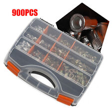 900 Pieces M3 M12 Rivet Nut Kit Rivnut Nutsert Assort Nut Setter Thread Steel Us