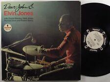 ELVIN JONES Dear John C. IMPULSE/ABC LP mono wlp gatefold
