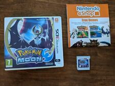 Nintendo 3DS Pokemon Moon with box, manual & game, all proceeds to Alzheimer's