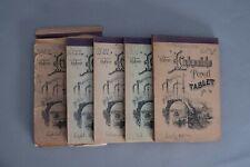 Antique 1888 Diary written by Retta VanScoy: 5 Chronological Volumes