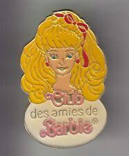 RARE PINS PIN'S .. ART JOUET TOY POUPEE DOLL CLUB LES AMIES DE BARBIE FRANCE ~DA