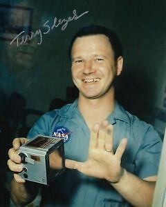 GFA Astronaut NASA Photographer TERRY SLEZAK Signed 8x10 Photo COA