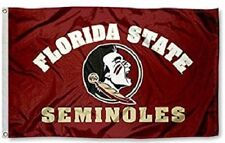 New Florida State Seminoles Flag Large 3'X5' NCAA Banner FREE SHIPPING