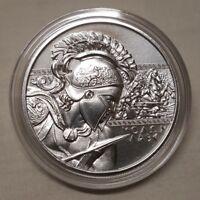 1oz The Spartan Molon Labe .999 Fine Silver Round Coin Spartans Come and Take it