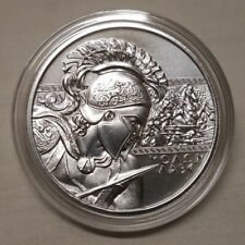 1oz The Spartan Molon Labe .999 Fine Silver Round Coin Spartans Come and Take it