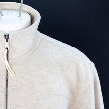 Antigua Fleece Jacket Full Zip Mock Neck Mens Size Large