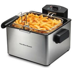 Hamilton Beach Professional-Style Deep Fryer, Model# 35042